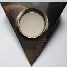 pyramide ledspot 3 watt (melkglas wit)