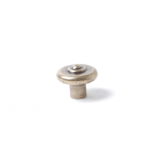 knop rond 35mm brons