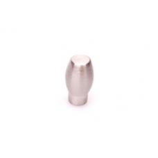 Deurknop rond 15mm rvs