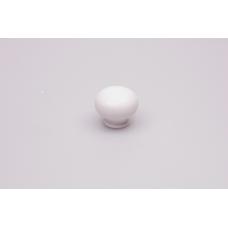 paddestoel knop porselein wit rond 30mm