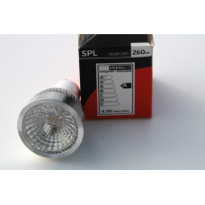 Led lamp 4,5 watt GU10 uitvoering (230volt) Dimbaar